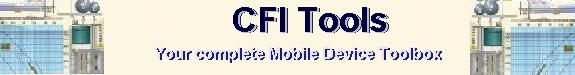 CFI Tools Your Toolbox on your mobile device.
